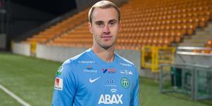 Daniel Svensson fick bli cuphjälte för VSK när han räddade den sista och avgörande straffen.