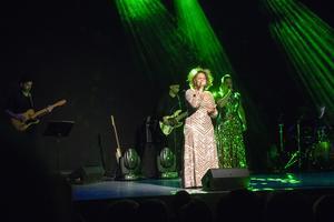 Laila Adèle var en av fem musikalartister som besökte Bollnäs.