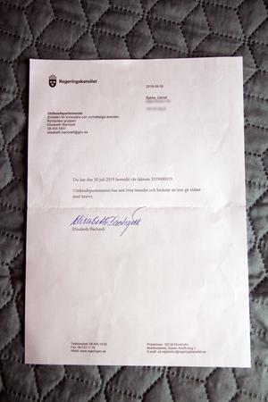 UD drog tillbaka sin faktura efter att Daniel Bakke hade bestridit den.