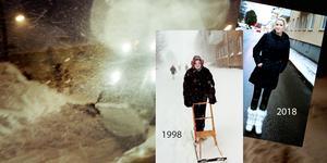 Cathrine Norén var flickan på sparken som vår reporter Catharina Hugosson mötte då för 20 år sedan. Nu har de träffats igen.