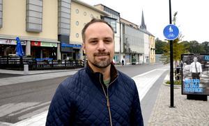 Jesper Johansson, 36, egenföretagare, Timrå: