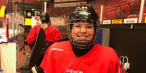 Moa Viklund i Brynäs. Nästa säsong spelar hon i Leksand.