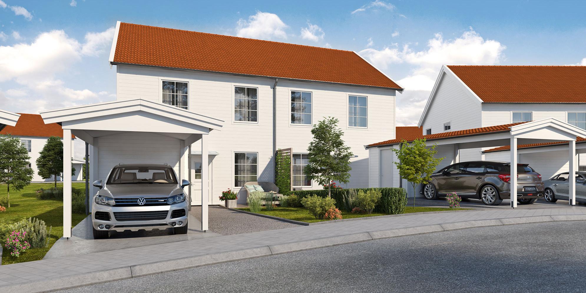 Parhus liknande dem i Uvbergsviken i Borlänge vill Framfast nu också bygga i Gustafs.