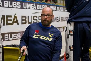 Lars Stenmark kommer närmast från uppdraget som materialförvaltare för Björklöven i Hockeyallsvenskan. Foto: Johan Löf/Bildbyrån