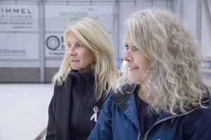Pia Jonsson och Susanne Hillström Becker tror att det kan vara svårt att få till ett nytt damlag i Broberg.