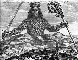 Abraham Bosses gravyr till Thomas Hobbes