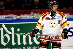 Tommy Sjödin under sin spelarkarriär. 2008 la han skridskorna på hyllan. Foto: Bildbyrån.