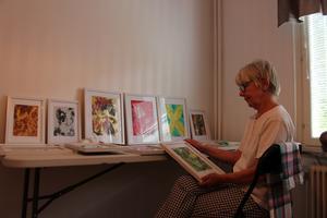 Britt-Inger Vikberg är pensionär och konstnär. Hon samarbetar inte med Operation Smile utan skänker gåvorna som en vanlig givare. Det är helt hon själv som har tagit initiativet.