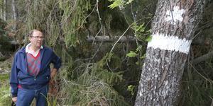Bertram Schmiterlöw, skogsägare och ordförande i LRF kommungrupp Norrtälje, är kritisk mot Skogsstyrelsen.