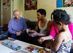 Lars-Göran och familjen pratade igenom det som hänt.