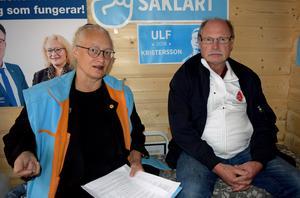 Agneta Nyvall (M) är upprörd – och Kenneth Persson (S) tar avstånd från de lögner som sprids.