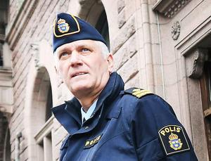 Mikael Hedström, polisens presstalesman.