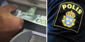 Så fort du tar ut eller flyttar pengar som kommer från kriminell verksamhet verksamhet gör du dig skyldig till penningtvättsbrott. Därför uppmana