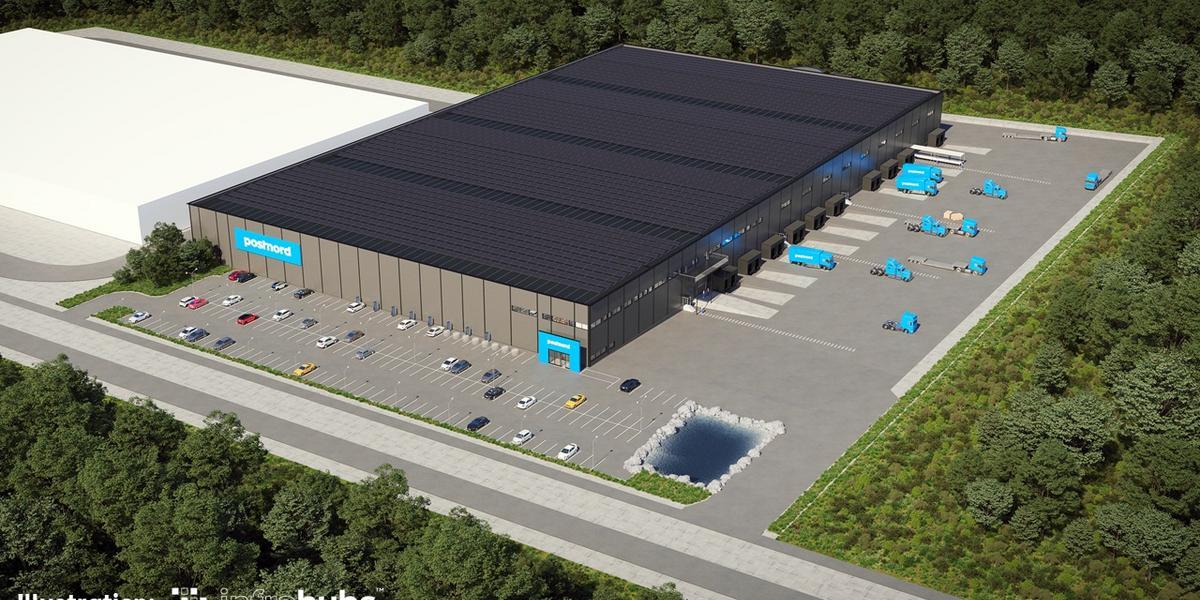 EXTRA: Postnord bygger nytt storlager i Ljungby