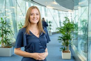 Maria Tiger Bodlund från Hammarstrand jobbar för Sara Skyttedal (KD) i Europaparlamentet. Foto: Kristdemokraterna