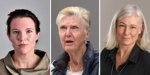 Lina Nordquist (Li),  sjukvårdspolitisk talesperson, Barbro Westerholm (L) talesperson för årsrika och Karolina Wallström (L) kommunalråd Örebro kommun.