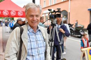 Anders Hanser vid sommarens inspelning  Orsa