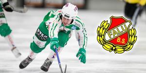 Micke Olsson har skrivit på för Falun.
