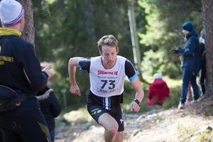 Orienteraren och skidorienteraren Erik Rost från Falun gick i mål som trea.
