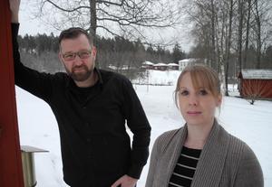 Fredrik Örtendahl och Sara Fältman är nya arrendatorer vid Staberg. Den 29 januari slår de upp portarna för Stabergs Krog och Trädgårdscafé.