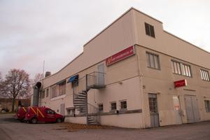 Här på hörnet av Linggatan i Sandviken har Nygrens El i dag sitt huvudkontor. En lokal som företaget anser att de har vuxit ur.