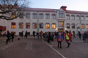 Det var bra uppslutning av elever under måndagens pulshöjare.