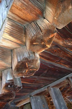 En del av stockarna i boden avverkades i mitten av 1500-talet.