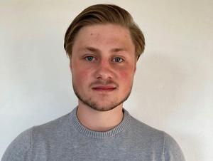 Hampus Lindén. Foto: Brobergs IF