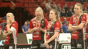 Jessika Eriksson deppar efter finalförlusten med Kais Mora.