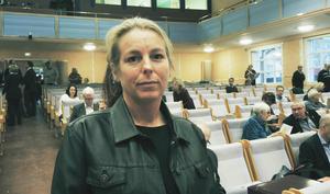 Jenny Nordahl (SD) yrkade avslag till detaljplanen.