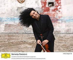 Violinisten Nemanja Radulović är från Serbien. Bild: Marie Staggat