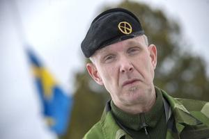 Överstelöjtnant Micael Ågren Berner, chef för Fältjägargruppen.