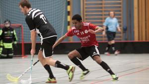 Per-Ols och Jonas Sandberg hade inte mycket att sätta emot Nyfors IK.