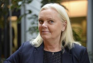 Kristina Winberg, Europaparlamentariker, utmålas som omdömeslös och illojal av Sverigedemokraterna. Foto: Anna Karolina Eriksson/TT