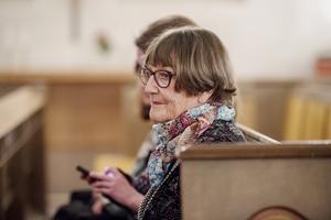 Anita Harning, vice ordförande i Örnsköldsviks FN-förening, var en av talarnas.