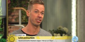 Gefle Dagblads Johan Järvestad gästade TV4:s Nyhetsmorgon på tisdagen. Bild: TV4