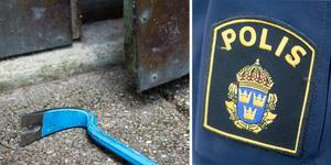 En man i 40-årsåldern åtalas på 18 punkter för bland annat stöld, häleri, brott mot knivlagen och drograttfylleri. Foto: TT