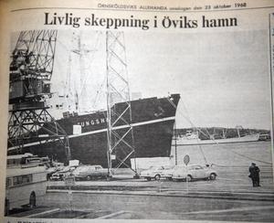 Bild från ÖA 23/10 1968.