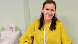 Kristina Linner, UF-lärare på Härjedalens gymnasium.