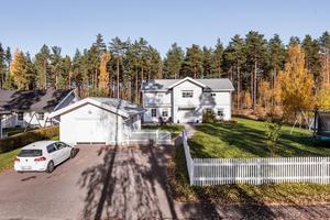 Denna villa i Falun var det näst mest klickade dalaobjektet på Hemnet förra veckan.Foto: Kristofer Skog/Husfoto