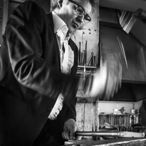 Sedan tio år bor Tobbe Malm utanför Oslo och arbetar som konstnär. Foto: Tobbe Malm/Läsarbild