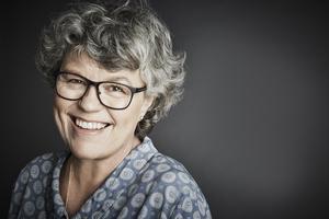 Anne Holt har varit journalist och advokat. I ett par år var hon justitieminister i Norge. Foto: Anna-Lena Ahlström.