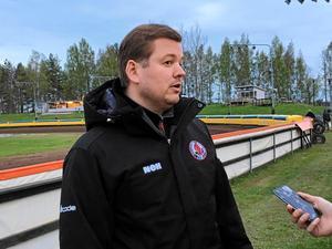 Peter Johansson, lagledare för Indianerna.