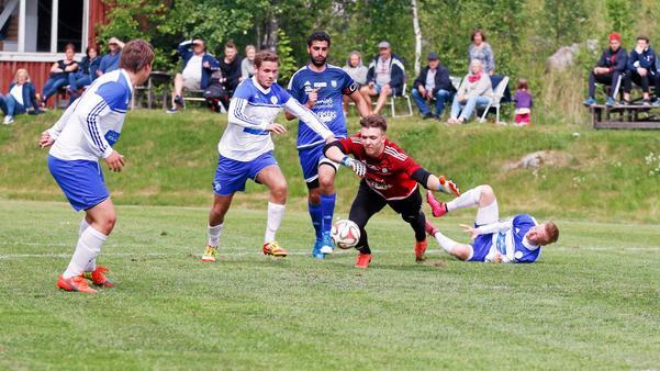 Marcus Zilén har öst in mål under försäsongen för sitt Västerfärnebo.