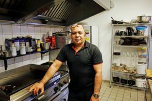 Dallai Mohamed har arbetat flera år inom restaurangbranschen där han bland annat jobbat mycket med amerikansk mat.