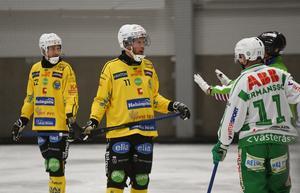 När Magnus Fryklund saknades klev Erik Jonsson in på hans plats.