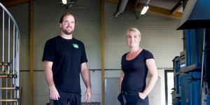 Daniel Jonsson och Martina Weber.