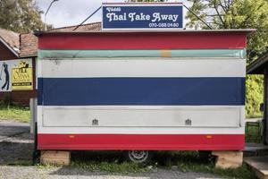 Väddö Thai take away får inte längre kyla ner mat i sin vagn efter att de blev kontrollerade.