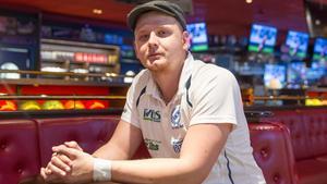 Viktor Danielsson och hans IKW/Köping BK kvalar i helgen till elitserien.