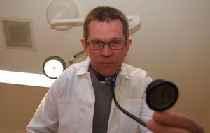 Ulf Börjesson är divisionschef för primärvården i Dalarna.